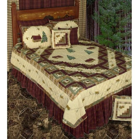 Log Cabin Quilt Settings by Forest Log Cabin Quilt Sets
