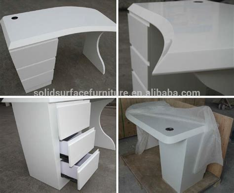 corian office table tell world custom solid surface office furniture excutive
