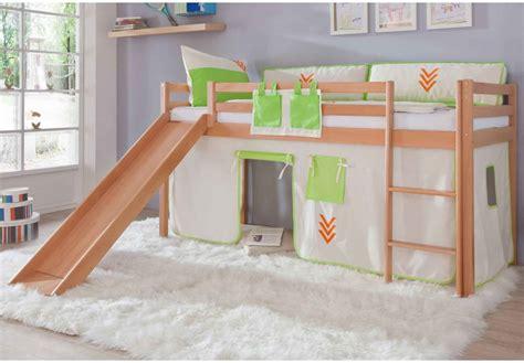 chambre enfant toboggan lit enfant avec toboggan prix 224 comparer avec le guide