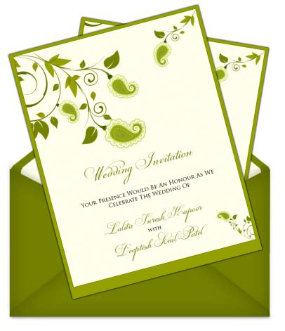 Invitation Letter Design For Wedding | letter style email indian wedding card design 101 email