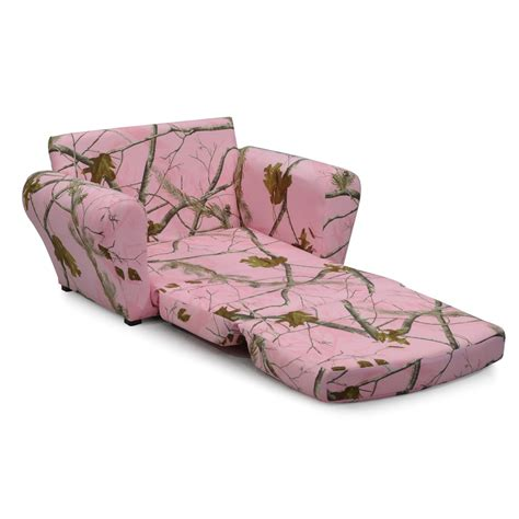 Pink Camo Recliner by Realtree Camo Furniture Realtree Pink Sleepover