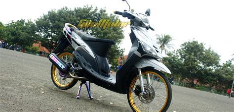 Modifikasi Mio Sporty 2007 by Modifikasi Mio Sporty Tahun 2007 Modifikasi Motor