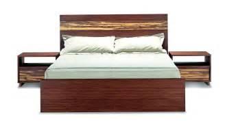 The mandalay bamboo platform bed and bedroom furniture set