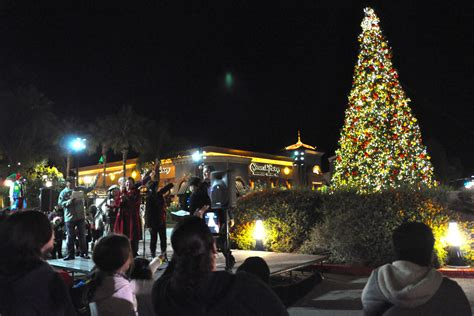 oak ranch plaza christmas lights tree lighting at otay ranch town center