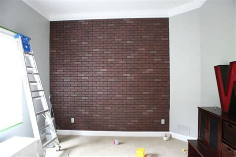 brick accent wall brick accent wall girl room ideas pinterest
