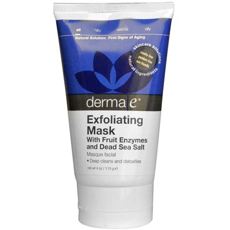 Exfoliating Masks derma e exfoliating mask 4 oz 113 g iherb