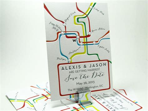 wedding invitation washington dc washington dc metro map save the date digby invitations dc