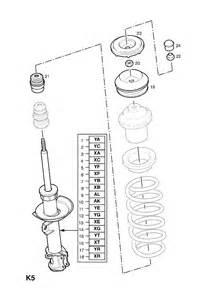 Vauxhall Astra Parts Diagram Pi 232 Ces De Quot Essieu Et Suspension Avant Quot Mod 232 Le Opel Corsa C