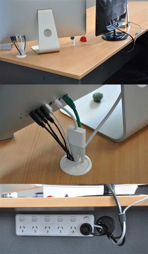 best under desk cable management simple cord management solutions that can make life easier