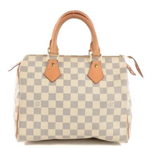 Louis Vuitton Speedy Bandou Damier Sz 25cm louis vuitton damier azur speedy 25 122561