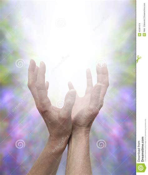 sending healing energy stock photo image  beautiful