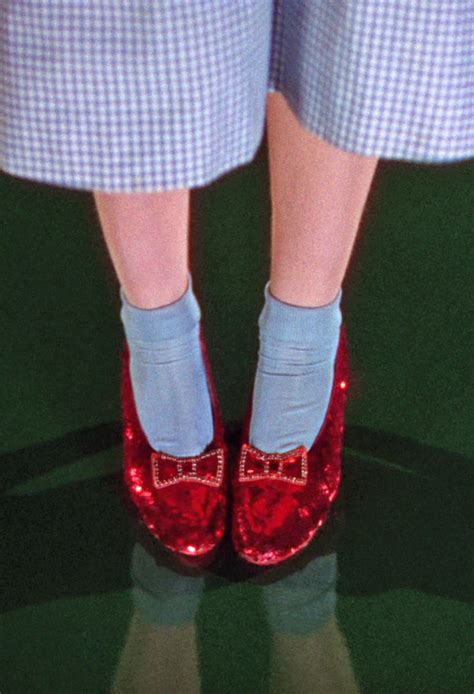 ruby slippers from wizard of oz dorothy s ruby slippers quot the wizard of oz quot 1939 176 tv