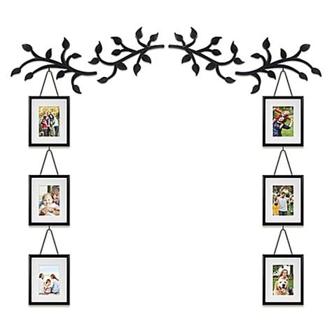 Wall Solutions 10 Piece Photo Frame And Vine Set Bed Bed Bath And Beyond Frames