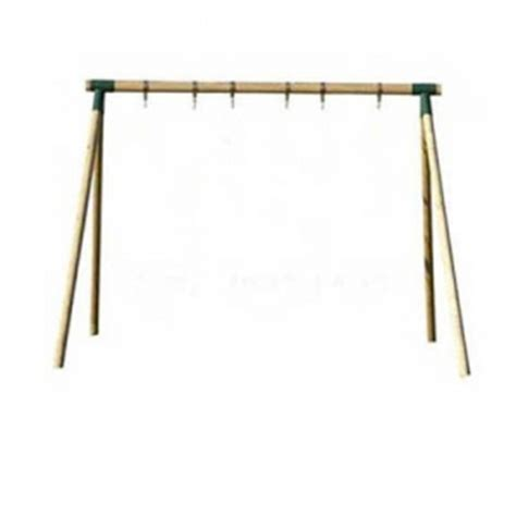 single wooden swing frame countrywood single swing frame the outdoor toy centre
