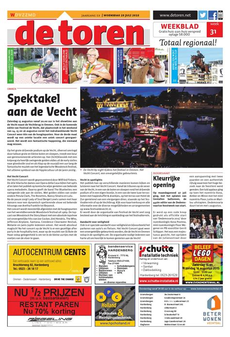 De Toren Week 50 2015 By Weekblad De Toren Issuu by De Toren Week 31 2015 By Weekblad De Toren Issuu