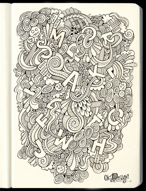 doodle draw 25 eye refreshing doodles designs exles creativedive