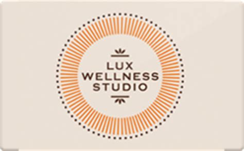 Wellness Gift Card - buy lux wellness studio gift cards raise