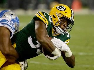 Green Bay Court Records Report Packers Rookie Running Back Aaron Jones Facing Marijuana Charge Story