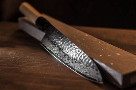 Professional Kitchen Knives japanese chef knife sakai takayuki 45 layer by nothing