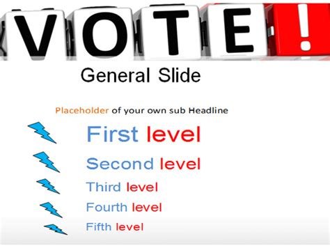 Vote Powerpoint Template By Templatesvision Teaching Resources Tes E Voting Website Template