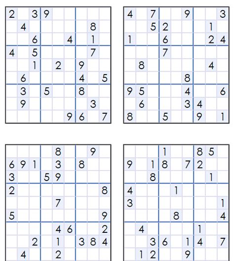 printable easy sudoku 4 per page free sudoku puzzle download printable sudoku99