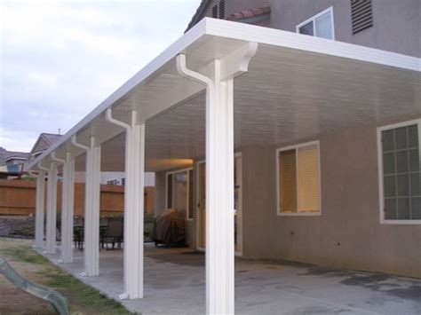 insulated patio cover orange county aluminum insulated solid patio covers riverside ca california construction