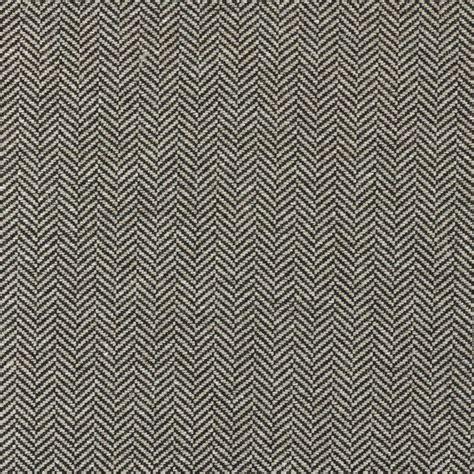 Herringbone Upholstery Fabric by Ralph Fabrics Sutherland Herringbone Charcoal
