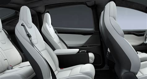 Tesla Rear Seats Tesla Model X Gets A 20 Quot Sonic Carbon Wheel And Center