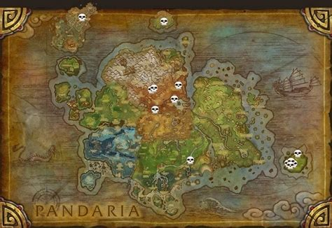 usa in map of world world of warcraft pandaria world bosses on a map quiz by moai