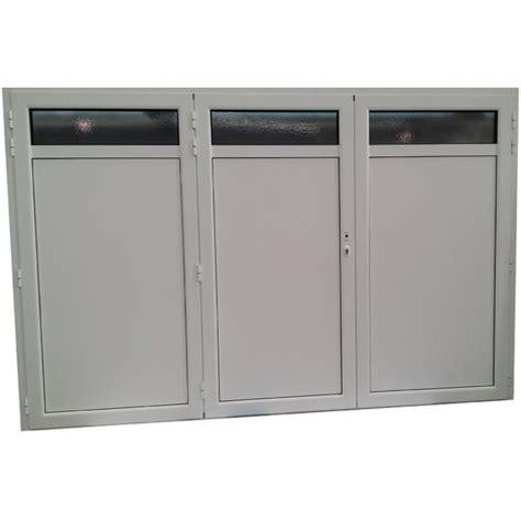 porte de garage 3 vantaux porte de garage aluminium isol 233 3 vantaux standard h 2