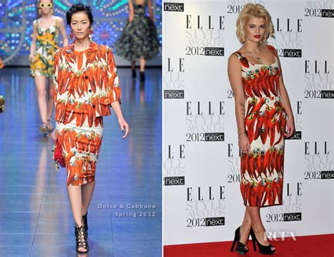 Who Wore Dolce Gabbana Better Carpet Style Awards 2 by Pixie Geldolf In Dolce Gabbana 2012 Style Awards