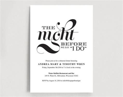 rehearsal dinner place card template wedding rehearsal dinner printable invitation card