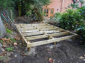 shed plans how to build a shed base on uneven ground how