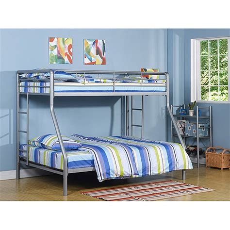 dorel twin over full metal bunk bed dorel twin over full metal silver bunk bed with set of 2