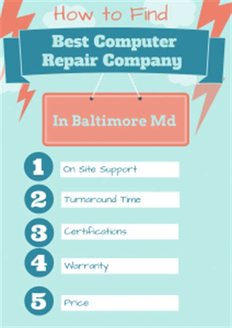 Top Mba Programs In Maryland by How To Find The Best Computer Repair In Baltimore