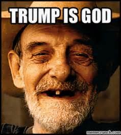 God Memes - trump is god