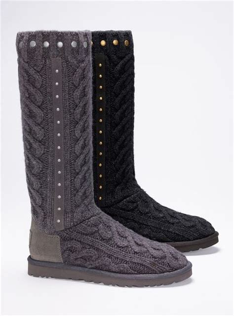 cable knit boots s secret feliciana cable knit boot in gray