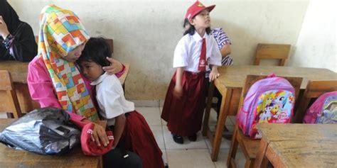 beragam hari pertama masuk sekolah dari unik