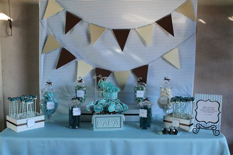 baby shower table candy table sweet love candy buffet company