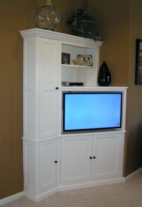 tv corner units ideas  pinterest corner tv
