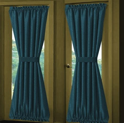 dark turquoise curtains solid dark turquoise french door curtains custom sized