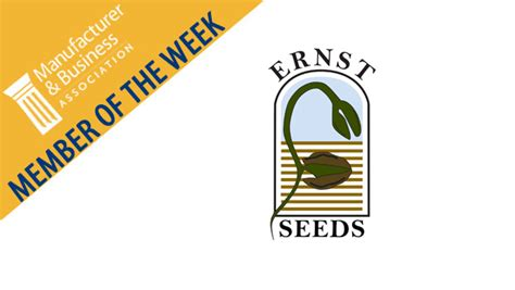Ernst And Mba Internship by Member Of The Week Ernst Conservation Seeds Mba