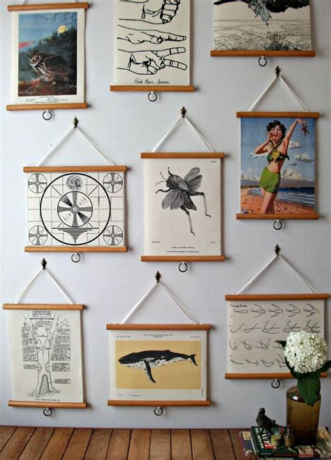 hanging art prints 17 best ideas about hanging posters on pinterest poster