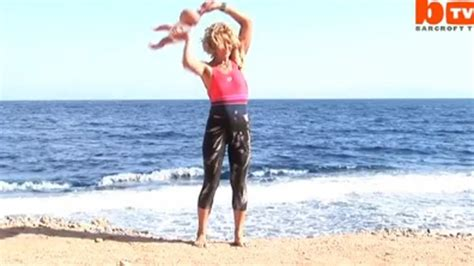 swinging baby yoga baby yoga proponent back with new video ctv news