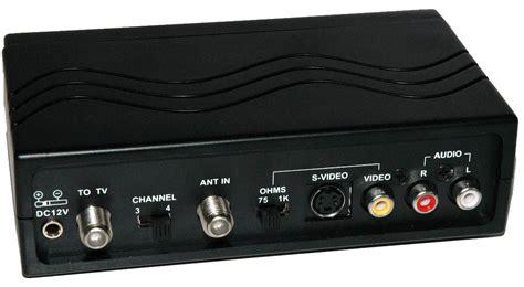 Modulator Tv Kabel Digital the of an rf modulator in a dvd player tv setup