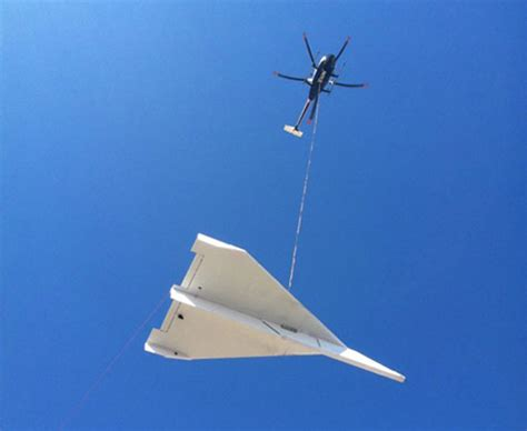 A Paper Helicopter - 45 foot paper airplane needed a helicopter to be