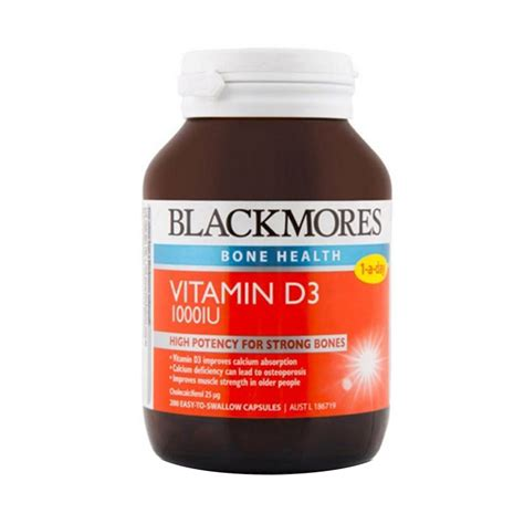 Suplemen Vitamin A Jual Blackmores Bone Health Vitamin D3 1000iu Multivitamin