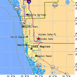 map of chions gate florida golden gate florida fl population data races
