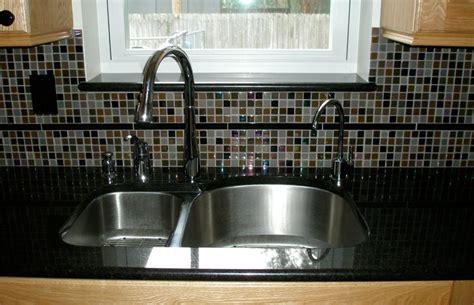 kitchen sink backsplash remodelled kitchens in ta