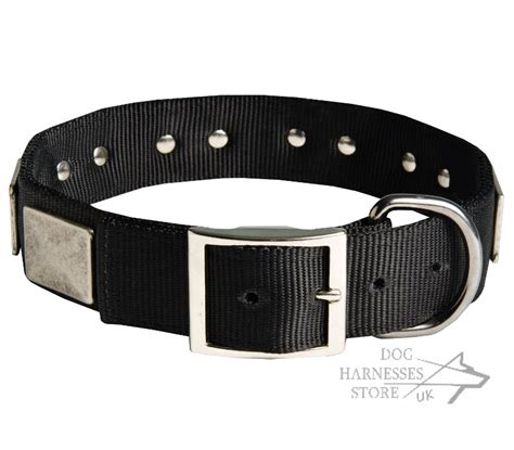 strong collars gsd collar with nickel plates collar